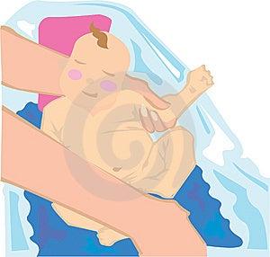 Baby Bath Stock Photography - Image: 9493192