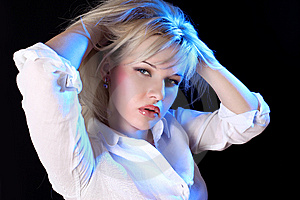 Young Blondie Stock Image - Image: 9494771