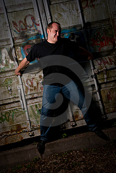 Powerful Man Expression Portrait Stock Images - Image: 9495124