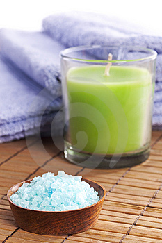Spa Salt Royalty Free Stock Photo - Image: 9495305