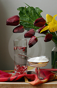 Rhubarbs Drink Stock Photography - Image: 9497452
