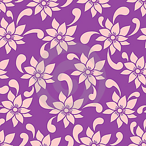 Floral Seamless Pattern Royalty Free Stock Photo - Image: 9497565