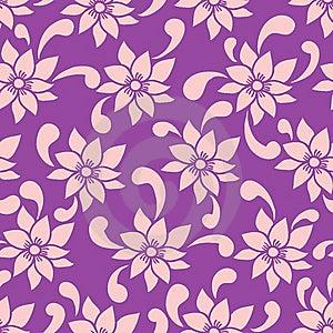 无缝花卉的模式 免版税库存照片 - 图片: 9497565