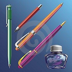 Pen And Ink-pot Stock Photos - Image: 9499493
