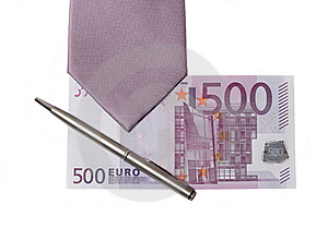 Tie And Money Royalty Free Stock Photography - Image: 9499857