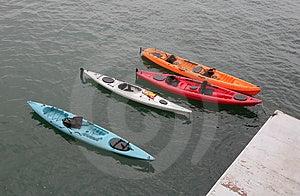 Kayaks Free Stock Photography