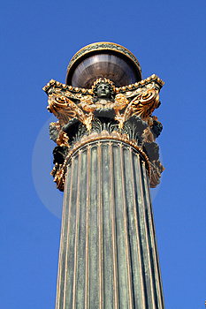 Public Light Top Royalty Free Stock Photo - Image: 953765