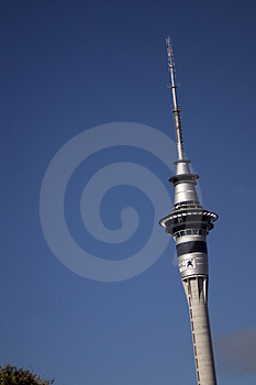 Auckland Sky Tower Stock Image - Image: 954531