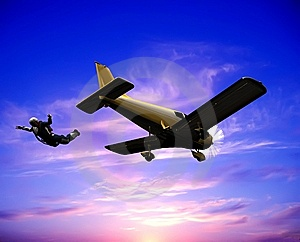 The Jet Plane Royalty Free Stock Photo - Image: 9500185