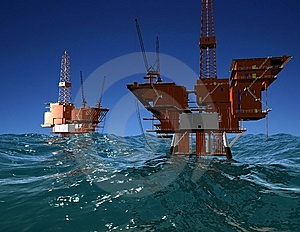Production Of Petroleum Stock Photo - Image: 9500380