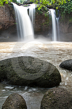 Waterfal In Thailand Stock Images - Image: 9501754