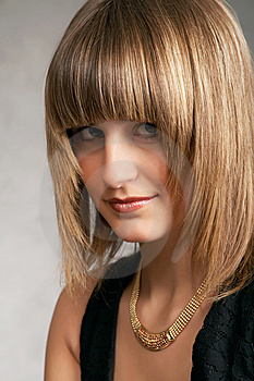 Close Up Of Girl In A Dress Royalty Free Stock Images - Image: 9504799