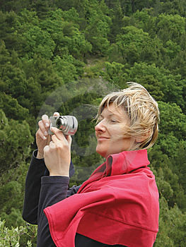 Women Photographer Royalty Free Stock Photos - Image: 9506398