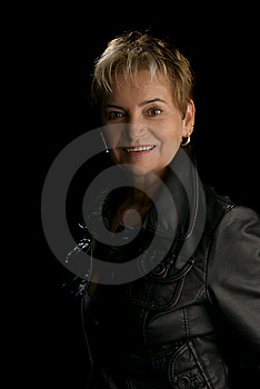 Portrait Of A Senior Woman Stock Photo - Image: 9511880