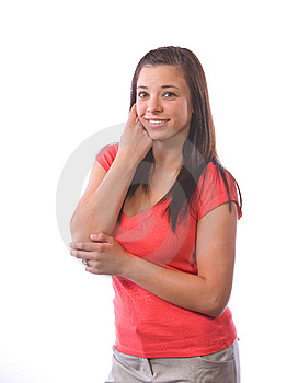 Young Woman Thinking Royalty Free Stock Photo - Image: 9512005