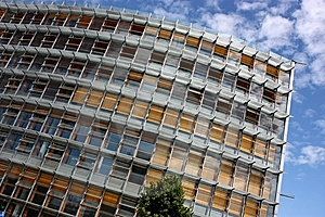 Modern Administrative Building Royalty Free Stock Photography - Image: 9513427