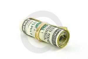 Roll Of Dollar Bills Stock Image - Image: 9515081