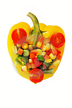 Vegetable Mix In Pepper Stock Images - Image: 9516664