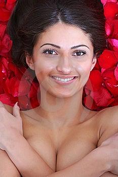 Portrait Of The Beautiful Girl. Stock Photo - Image: 9517410
