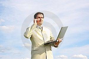 Wireless Business Royalty Free Stock Photo - Image: 9520285