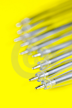Ball Point Pens Royalty Free Stock Photo - Image: 9520925