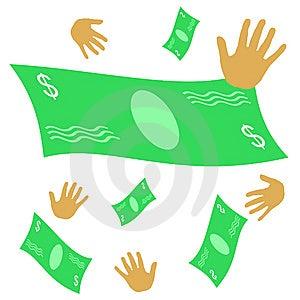 Chasing Money Stock Images - Image: 9521074