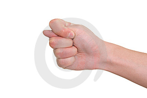 Gesturing Hand Stock Photo - Image: 9522730
