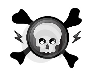 Pirate Skull Royalty Free Stock Photography - Image: 9523917