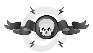 Gothic Skull Royalty Free Stock Photography - Image: 9523927