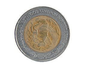 Coin Five Peso Stock Image - Image: 9524121