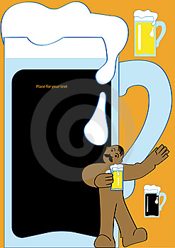 Beer Stock Image - Image: 9524761