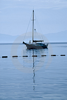 Small Sailboat Royalty Free Stock Photos - Image: 9525298