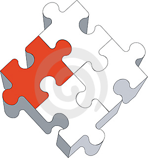 Puzzle 03 Stock Photography - Image: 9525352