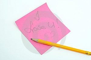 I Love U Stock Image - Image: 9528631