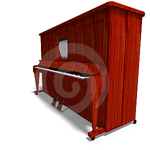 Pianola Stock Image - Image: 9532441