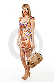 Fashion Girl Posing Royalty Free Stock Images - Image: 9534189