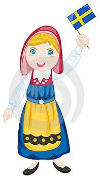 National Costume Stock Image - Image: 9536671