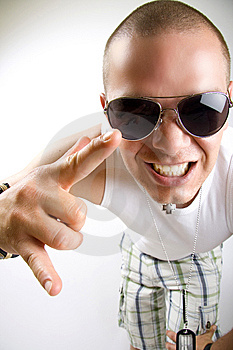 Young Man Screaming Royalty Free Stock Photos - Image: 9538758