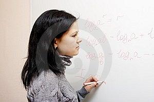 Lesson Of Mathematics Stock Image - Image: 9539781