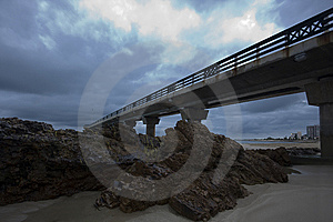Beach Pier Stock Photography - Image: 9542802