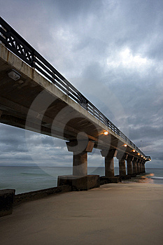 Beach Pier Royalty Free Stock Image - Image: 9542986