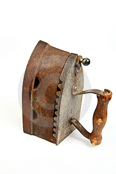Old Iron Stock Photography - Image: 9543082