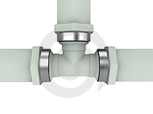 Gas Pipe Royalty Free Stock Photos - Image: 9545178