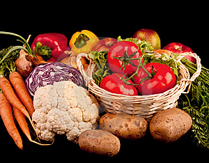 Pile Of Various Vegetables Royalty Free Stock Photography - Image: 9545967