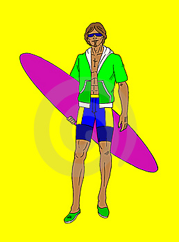Surfing Royalty Free Stock Photo - Image: 9547585