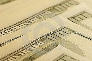 Dollar Hundra Arkivbild - Bild: 9548032
