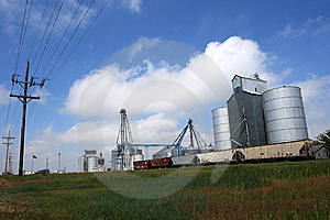 Grain Elevator Stock Photography - Image: 9561242