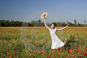 Happiness Feeling Royalty Free Stock Photography - Image: 9562627