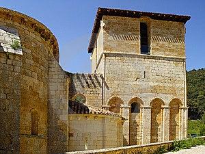 The Monastery Of San Pedro De Arlanza In Burgos Stock Photo - Image: 9565650