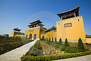 Chinese Temple Stock Photos - Image: 9566483
